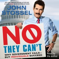 No, They Can't - John Stossel - audiobook