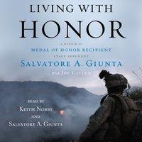 Living With Honor - Salvatore Giunta - audiobook