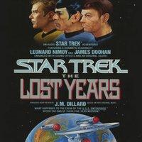Star Trek: The Lost Years - J.M. Dillard - audiobook