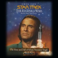 STAR TREK: THE EUGENICS WARS, VOLUME #2 - Greg Cox - audiobook
