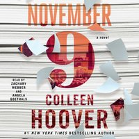November 9 - Colleen Hoover - audiobook