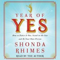 Year of Yes - Shonda Rhimes - audiobook