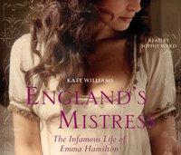 England's Mistress - Kate Williams - audiobook