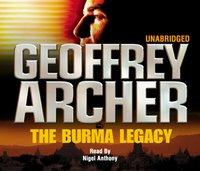 Burma Legacy - Geoffrey Archer - audiobook