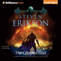 Crippled God - Steven Erikson - audiobook