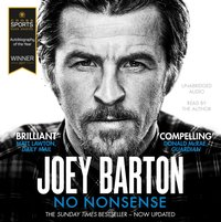 No Nonsense - Joey Barton - audiobook