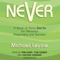 Never - Michael Levine - audiobook