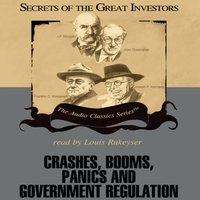 Crashes, Booms, Panics, and Government Regulation - Robert Sobel - audiobook