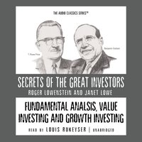 Fundamental Analysis, Value Investing and Growth Investing - Roger Lowenstein - audiobook