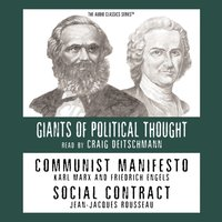 Communist Manifesto and Social Contract - Opracowanie zbiorowe - audiobook