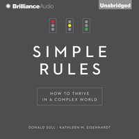 Simple Rules - Donald Sull - audiobook