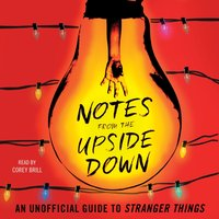 Notes from the Upside Down - Guy Adams - audiobook