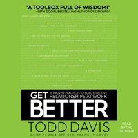Get Better - Todd Davis - audiobook
