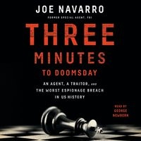 Three Minutes to Doomsday - Joe Navarro - audiobook