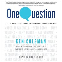 One Question - Ken Coleman - audiobook