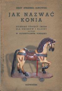 Jak nazwać konia: dziesięć tysięcy imion dla ogierów i klaczy ułożone w alfabetycznym porządku - Jerzy Strzemię-Janowski - ebook