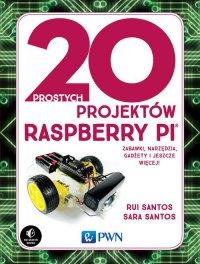 20 prostych projektów Raspberry Pi - Rui Santos - ebook