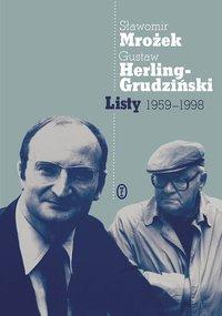 Listy 1959-1998 - Sławomir Mrożek - ebook