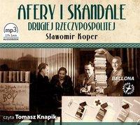 Afery i skandale Drugiej Rzeczypospolitej - Sławomir Koper - audiobook