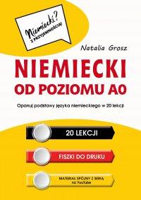 Niemiecki od poziomu A0 - Natalia Grosz - ebook