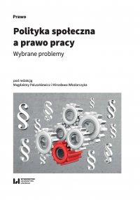 Polityka społeczna a prawo pracy. Wybrane problemy - Magdalena Paluszkiewicz - ebook