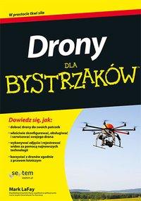Drony dla bystrzaków - Mark LaFay - ebook