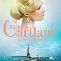 Sama w Paryżu - Barbara Cartland - audiobook