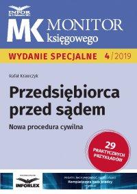 Przedsiębiorca przed sądem .Nowa procedura cywilna - Rafał Krawczyk - ebook