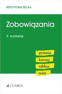 Zobowiązania. Pytania. Kazusy. Tablice. Testy. Wydanie 4 - Wioletta Żelazowska - ebook