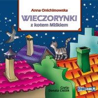 Wieczorynki z kotem Miśkiem - Anna Onichimowska - audiobook
