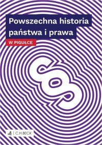 Powszechna historia państwa i prawa w pigułce - Wioletta Żelazowska - ebook