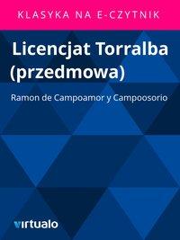 Licencjat Torralba (przedmowa)