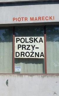 Polska przydrożna - Piotr Marecki - ebook