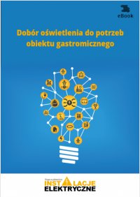 Dobór oświetlenia do potrzeb obiektu gastronomicznego - Janusz Strzyżewski - ebook