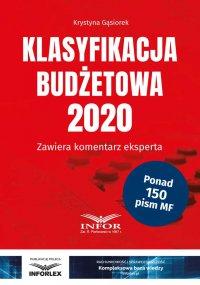 Klasyfikacja budżetowa 2020 - Krystyna Gąsiorek - ebook