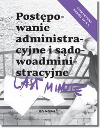 Last Minute Postępowanie administracyjne - Piotr Bronny - ebook