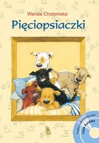 Pięciopsiaczki + CD - Wanda Chotomska - ebook