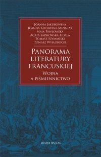 Panorama literatury francuskiej - Tomasz Wysłobocki - ebook