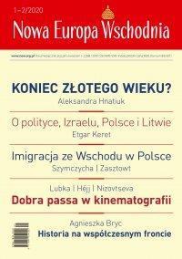 Nowa Europa Wschodnia 1-2/2020 - prof. Ola Hnatiuk - eprasa