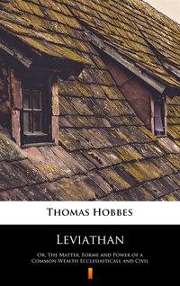 Leviathan - Thomas Hobbes - ebook