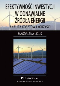 Efektywność inwestycji w odnawialne źródła energii – analiza kosztów i korzyści - Magdalena Ligus - ebook