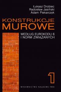 Konstrukcje murowe według Eurokodu 6 i norm związanych. Tom 1 - Łukasz Drobiec - ebook