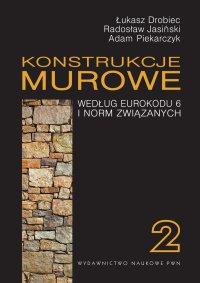 Konstrukcje murowe według Eurokodu 6 i norm związanych. Tom 2 - Łukasz Drobiec - ebook