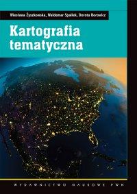 Kartografia tematyczna - Wiesława Żyszkowska - ebook