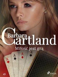 Miłość jest grą - Barbara Cartland - ebook