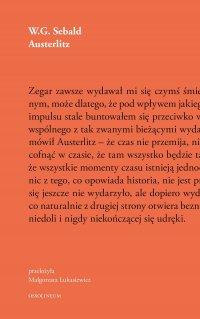 Austerlitz - W. G. Sebald - ebook