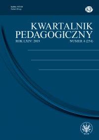 Kwartalnik Pedagogiczny 2019/4 (254) - Adam Fijałkowski - eprasa
