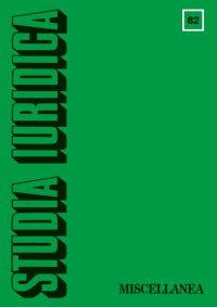 Studia Iuridica, nr 82 - Jan Rudnicki - eprasa