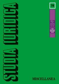 Studia Iuridica, nr 76 - Ryszard Piotrowski - eprasa