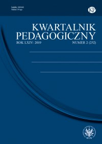 Kwartalnik Pedagogiczny 2019/2 (252) - Adam Fijałkowski - eprasa